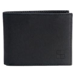Woolrich Billfold Wallet - Tuscan Leather in Black