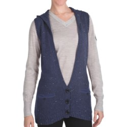 Woolrich Birch Song Hooded Vest (For Women) in Stone