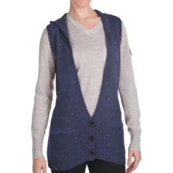Woolrich Birch Song Hooded Vest (For Women) in Deep Indigo