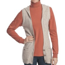 Woolrich Birch Song Hooded Vest (For Women) in Stone - Closeouts