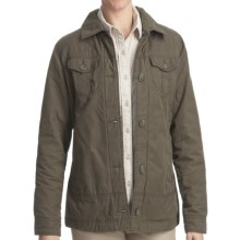 Woolrich Blacktail Jacket - Peached Twill (For Women) in Dark Shale - Closeouts