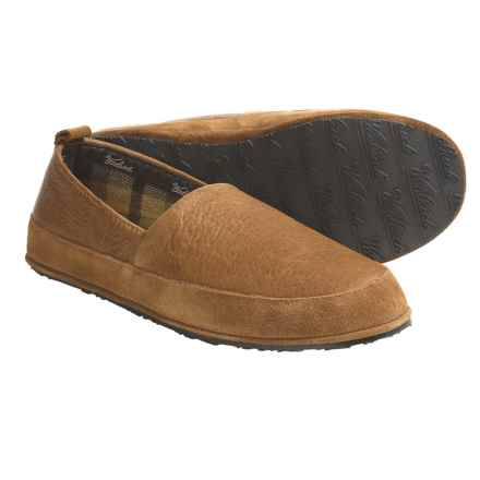Woolrich Blaize Slippers - Elk Leather (For Men) in Natural - Closeouts