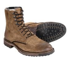 Woolrich Bootlegger Plain Toe Boots - Leather (For Men) in Bourbon - Closeouts