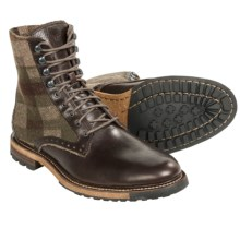 Woolrich Bootlegger Plain Toe Boots - Leather (For Men) in Java - Closeouts