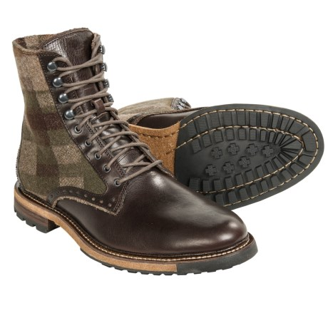 Woolrich Bootlegger Plain Toe Boots Leather (For Men)
