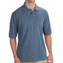 Woolrich Boundary Polo Shirt - UPF 30+, Short Sleeve (For Men) in Copen - Closeouts