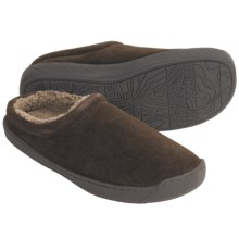 Woolrich Bourbon Clog Slippers - Suede (For Men) in Chocolate - Closeouts