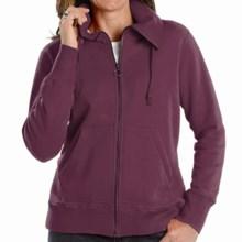 Woolrich Boysen Jacket - Full Zip (For Women) in Fig - Closeouts