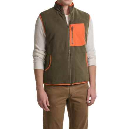 Woolrich Boysen Reversible Vest (For Men) in Dark Loden - Closeouts