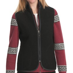Woolrich Bristol Wool Vest (For Women) in Black