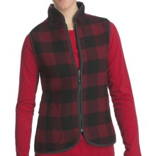 Woolrich Bristol Wool Vest (For Women) in Red/Black Plaid - Closeouts