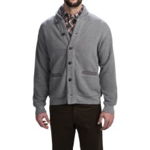 Woolrich Bromley Shawl Cardigan Sweater (For Men) in Steel Gray Heather - Closeouts