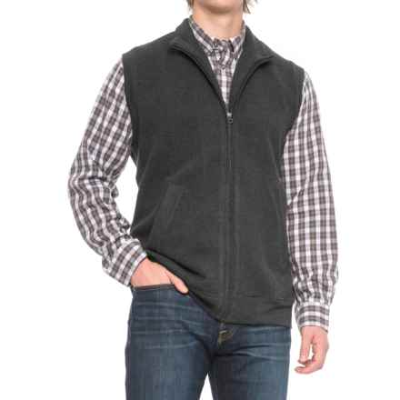 Woolrich Bromley Vest (For Men) in Black Heather - Closeouts