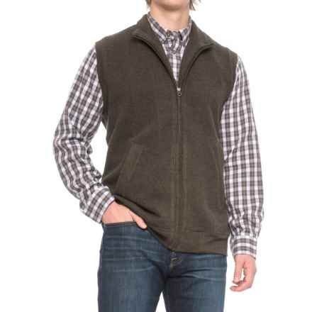 Woolrich Bromley Vest (For Men) in Dark Loden Heather - Closeouts