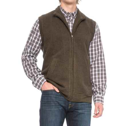 Woolrich Bromley Vest (For Men) in Mocha Heather - Closeouts