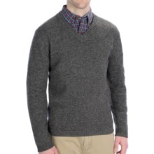 Woolrich Brookford Sweater - Lambswool (For Men) in Charcoal Heather - Closeouts