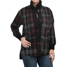 Woolrich Brunswick Coat - Wool Blend (For Women) in Black - Closeouts