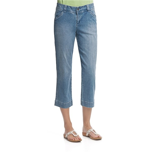 Beautiful Kuhl Organic Cotton Capri Pants - Lace Insets (For Women) - Save 38%