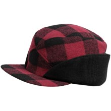 Woolrich Buffalo Check Wool Hat (For Men) in Red/Black - Closeouts