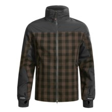 Woolrich Buffalo Plaid Jacket - Waterproof (For Men) in Black Buffalo - Closeouts