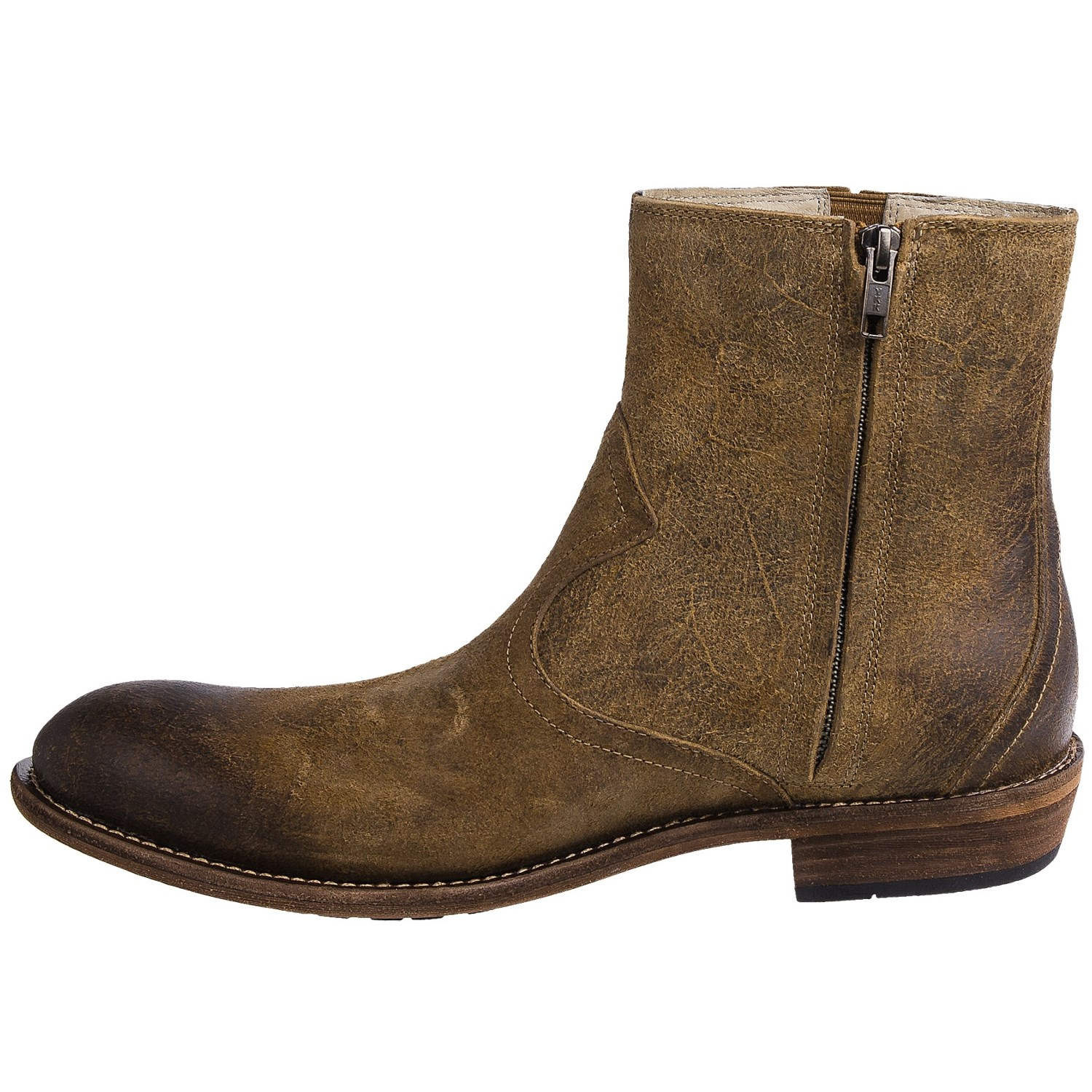 Men's Boots at Macy's come in all styles and sizes. Shop Men's Boots and get free shipping w/minimum purchase! Chelsea boots are a classic pull-on style. These ankle boots feature elastic side panels and round toes. Invest in a pair with a rubber sole to help ensure you can wear them during rain or snow.
