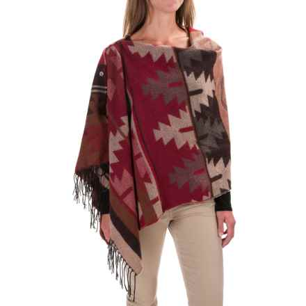 Woolrich Button Wrap (For Women) in Red Rock Old Red - Closeouts