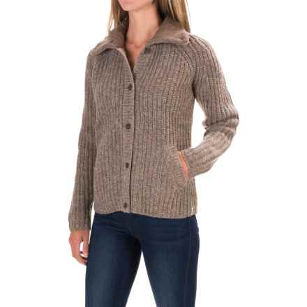 Woolrich By the Fire Cardigan Sweater (For Women) in Heddle - Closeouts