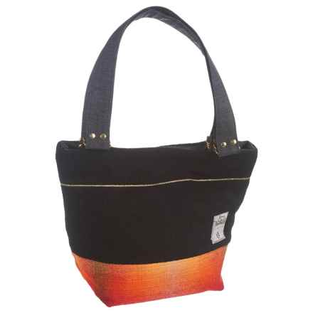 Woolrich by Unshattered Shoulder Bag (For Women) in Black W/Red/Orange Bottom - Closeouts