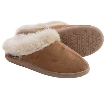 Woolrich Cabin Lounger Slippers (For Women) in Chestnut - Closeouts