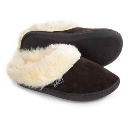 Woolrich Cabin Lounger Slippers (For Women) in Chocolate - Closeouts