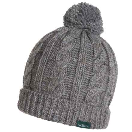 Woolrich Cable-Knit Beanie - Wool Blend (For Women) in Black - Closeouts