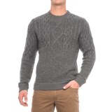 Woolrich Cable V-Neck Sweater - Lambswool Blend (For (Men)