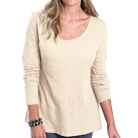Woolrich Callowill Sueded Cotton Shirt - Long Sleeve (For Women) in Ecru - Closeouts