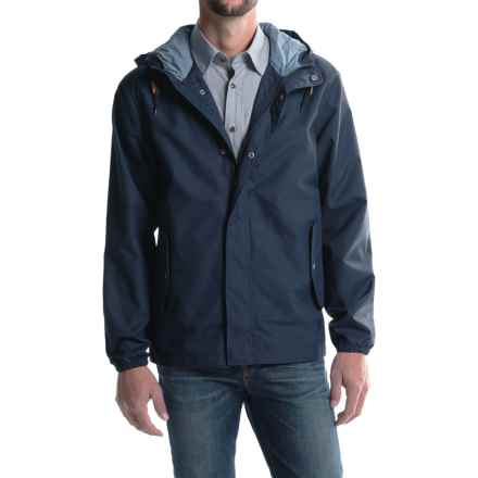 Woolrich Campout Canyon Hooded Jacket (For Men) in Deep Indigo - Closeouts