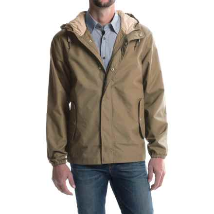 Woolrich Campout Canyon Hooded Jacket (For Men) in Khaki - Closeouts
