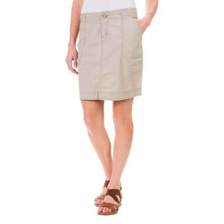 Woolrich Canoe Creek Skirt - UPF 50+ (For Women) in Dark Stone - Closeouts