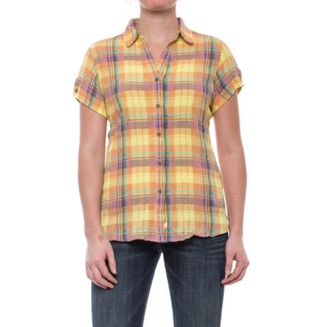 Woolrich Carrabelle Seersucker Shirt - Short Sleeve (For Women)