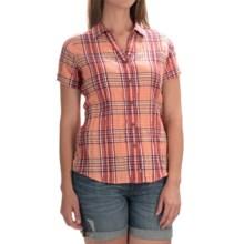 Woolrich Carrabelle Seersucker Shirt - Short Sleeve (For Women) in Shell - Closeouts