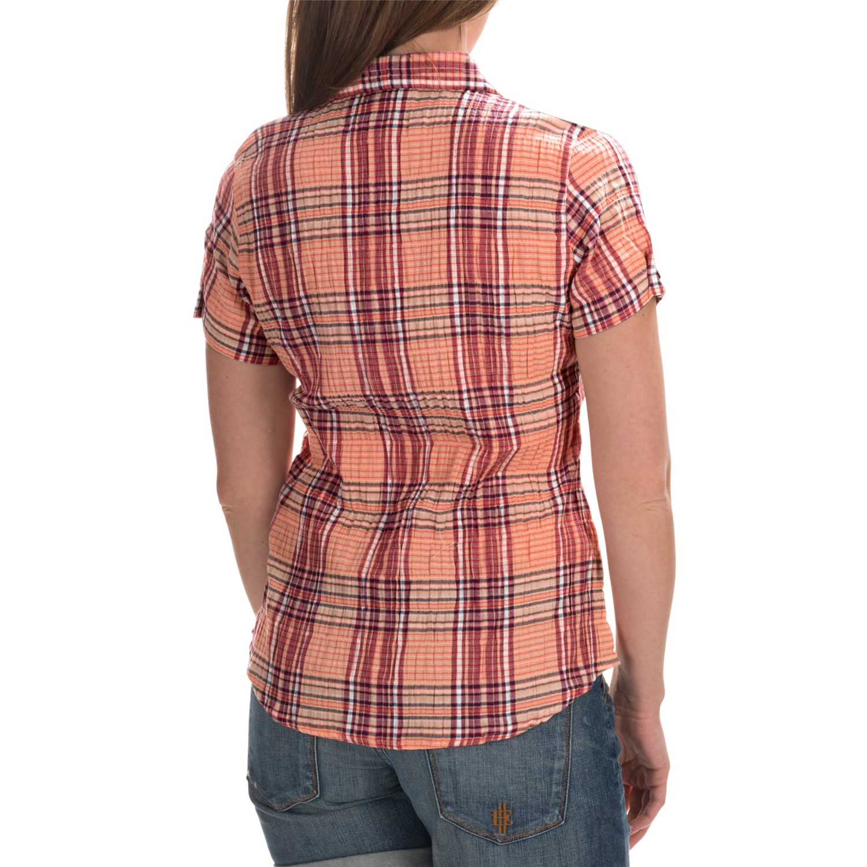 woolrich carrabelle seersucker shirt for women. Black Bedroom Furniture Sets. Home Design Ideas