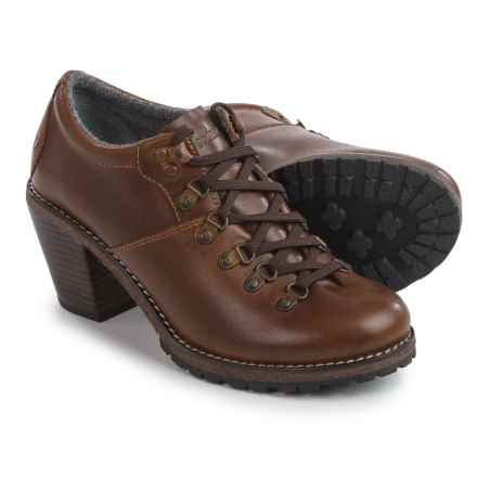 Woolrich Cascade Range Oxford Shoes - Leather (For Women) in Ginger - Closeouts