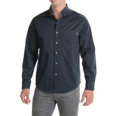 Woolrich Cast Iron Shirt - Long Sleeve (For Men) in Deep Indigo - Closeouts