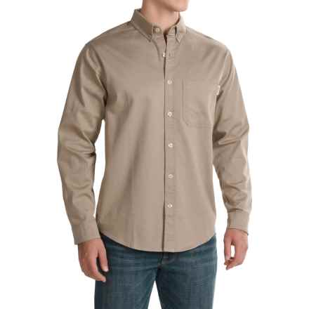 Woolrich Cast Iron Shirt - Long Sleeve (For Men) in Khaki - Closeouts