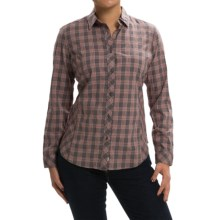 Woolrich Castabout Shirt - Long Sleeve (For Women) in Dark Ash - Closeouts