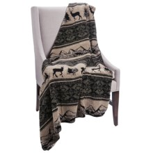 Woolrich Cedar Run Throw Blanket - Berber  in Deer Mountain - Closeouts