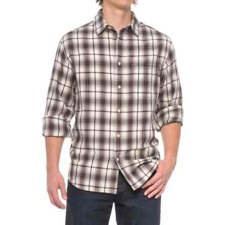 Woolrich Cedar Springs Shirt - Long Sleeve (For Men) in Wool Cream - Closeouts