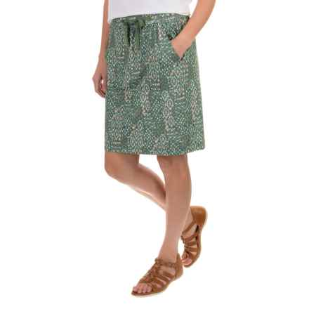 Woolrich Center Line Printed Skirt (For Women) in Olive Drab - Closeouts