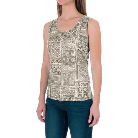 Woolrich Center Line Printed Tank Top (For Women) in Dark Ash - Closeouts