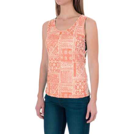 Woolrich Center Line Printed Tank Top (For Women) in Guava - Closeouts