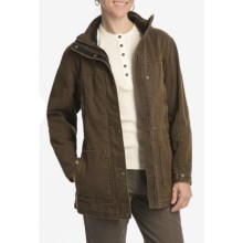 Woolrich Centerview Parka (For Women) in Saddle - Closeouts