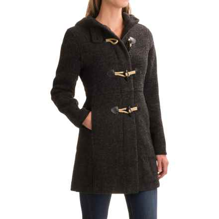 Woolrich Century Duffle Coat (For Women) in Black - Closeouts